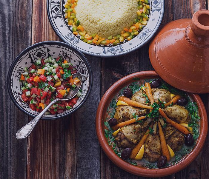 luxo africa food