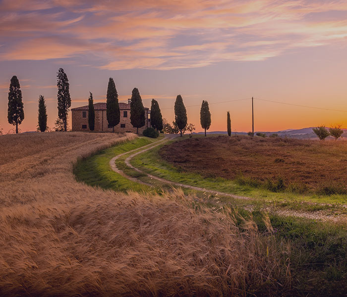 luxo tuscany