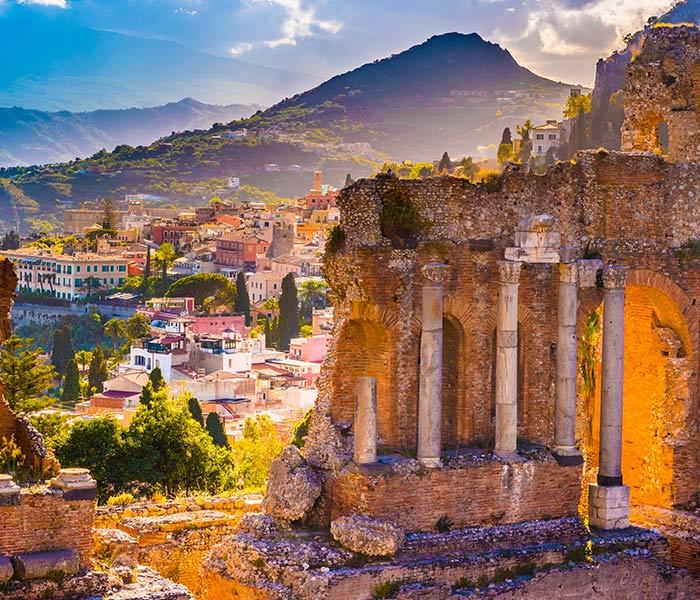 luxo sicilia taormina