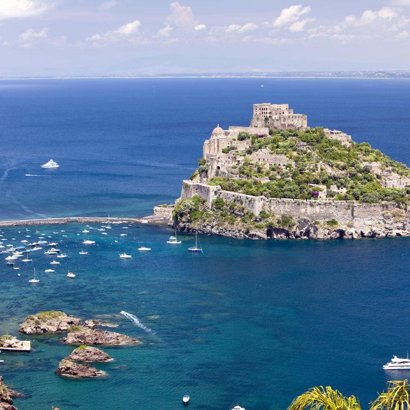 View of Castello Aragonese